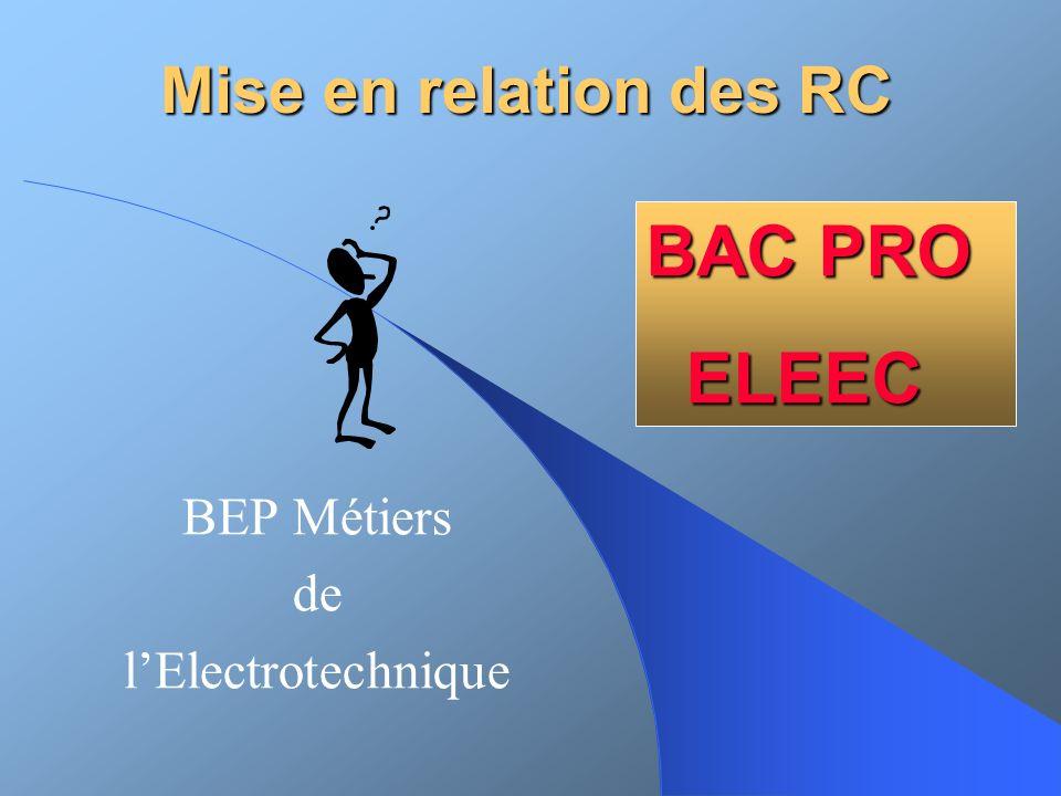BEP Métiers de l'Electrotechnique