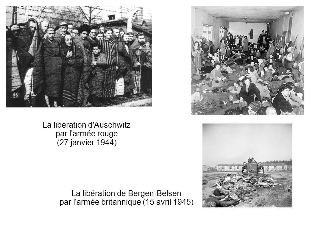 La libération d Auschwitz par l armée rouge (27 janvier 1944)