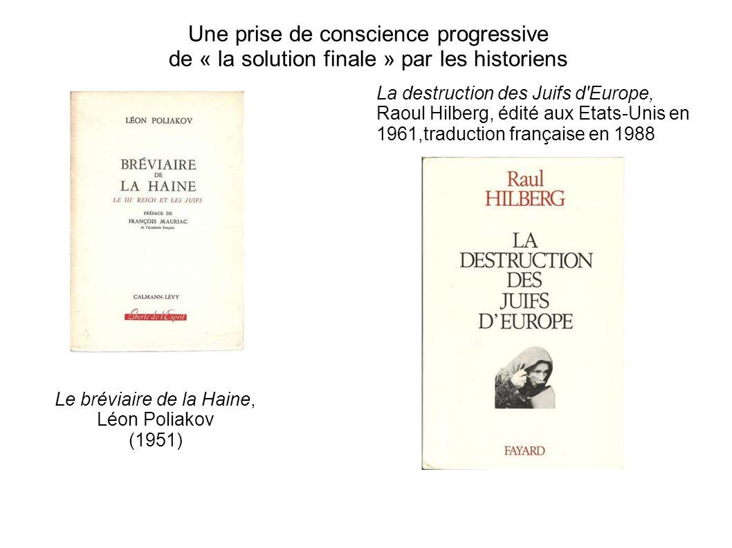 Le bréviaire de la Haine, Léon Poliakov (1951)