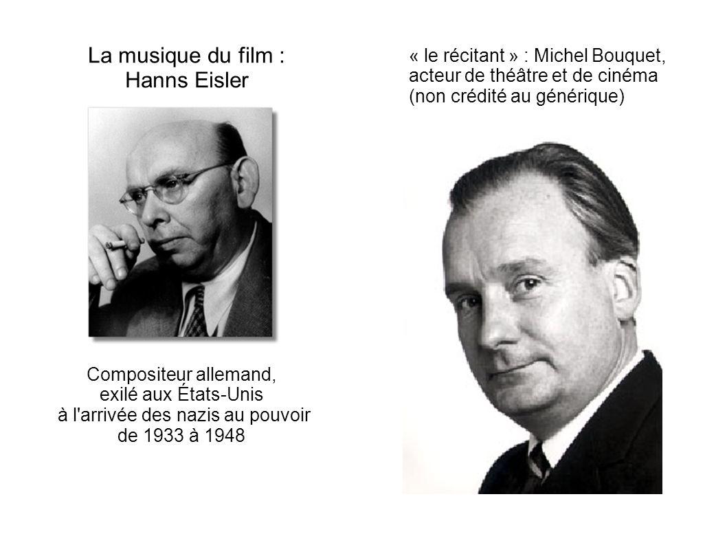 La musique du film : Hanns Eisler