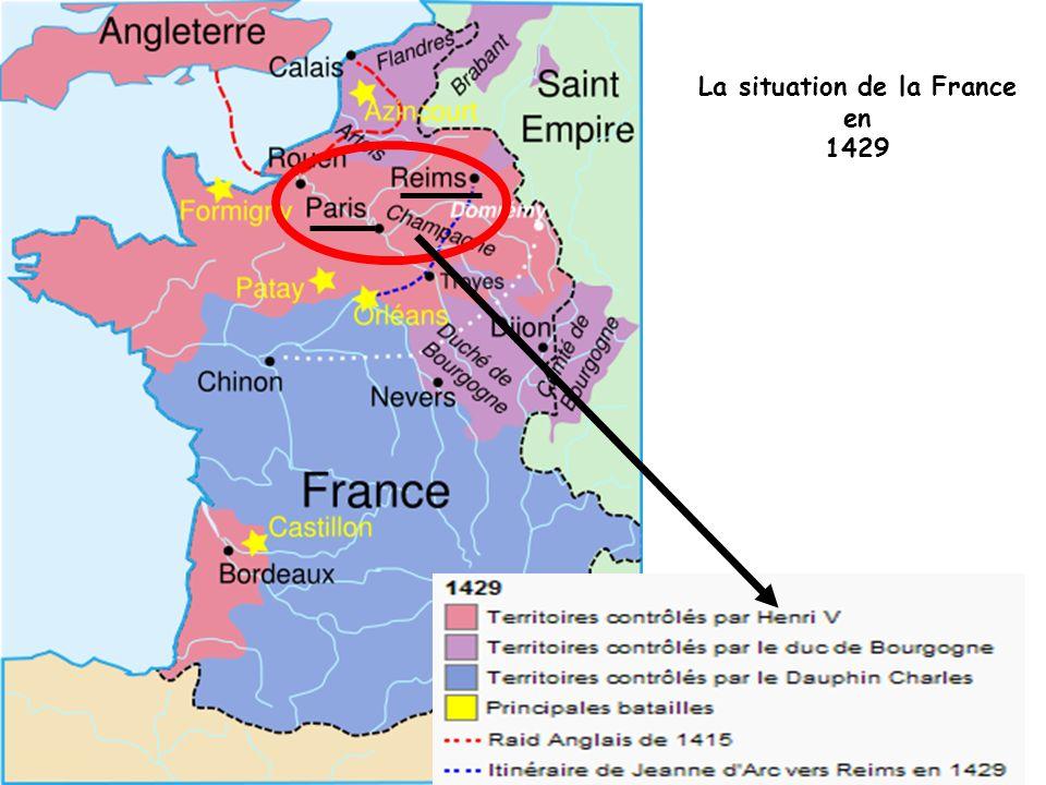 La situation de la France en