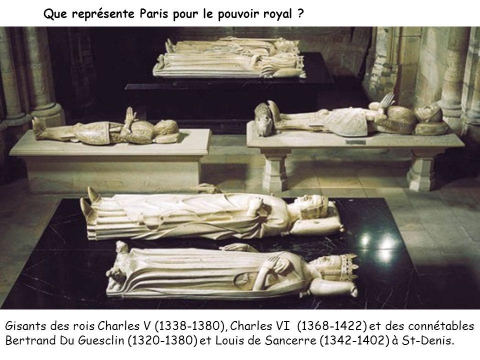 Que représente Paris pour le pouvoir royal