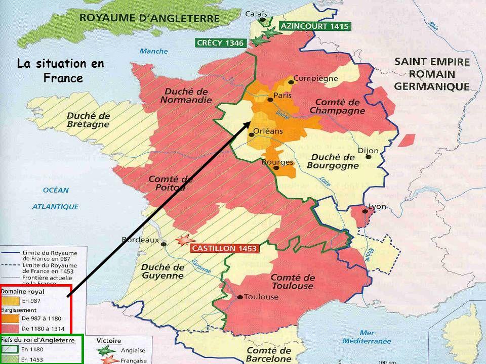 La situation en France