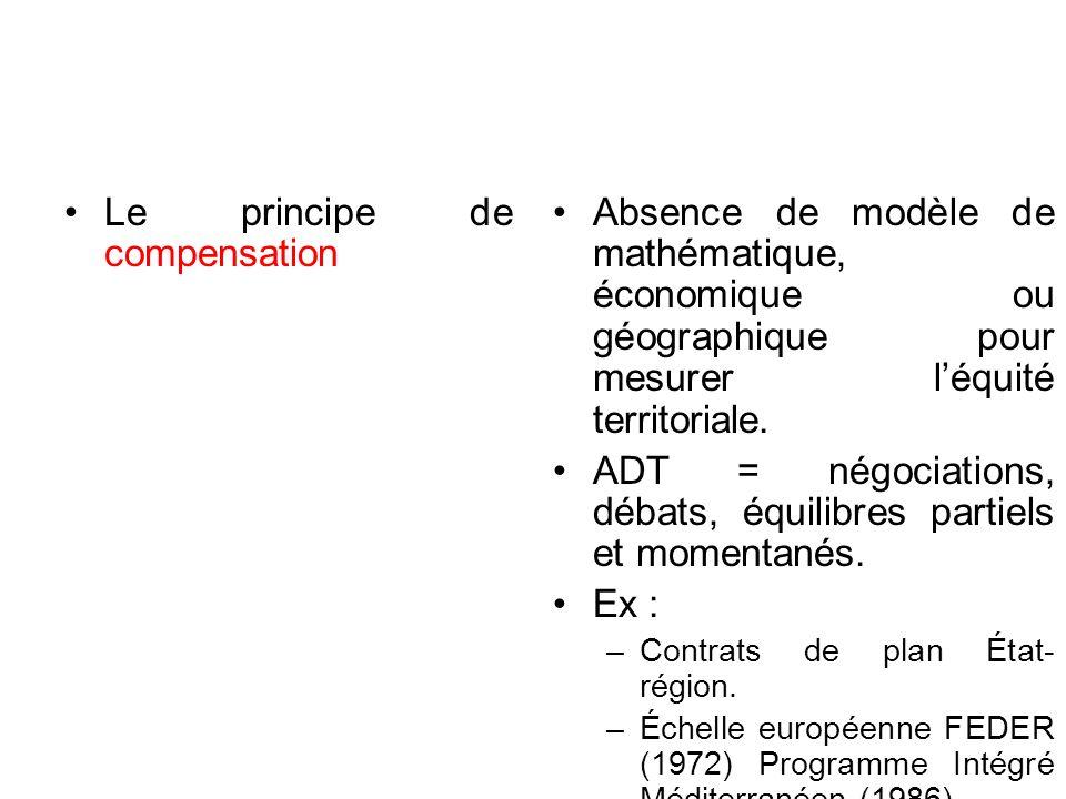 Le principe de compensation