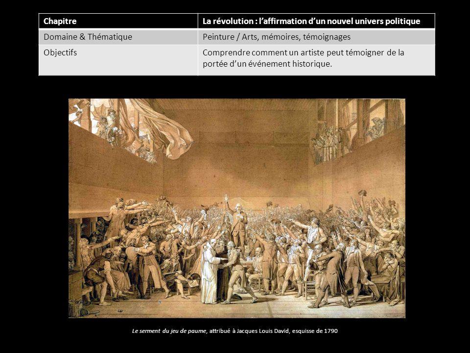 La révolution : l'affirmation d'un nouvel univers politique