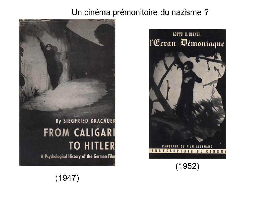Un cinéma prémonitoire du nazisme