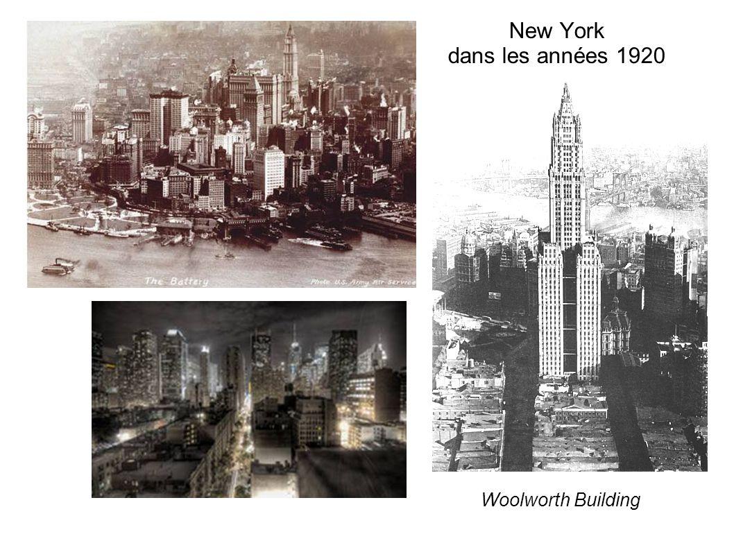 New York dans les années 1920