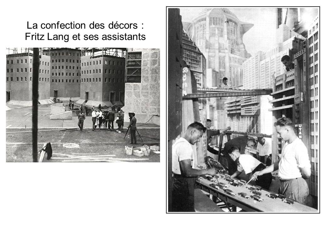 La confection des décors : Fritz Lang et ses assistants