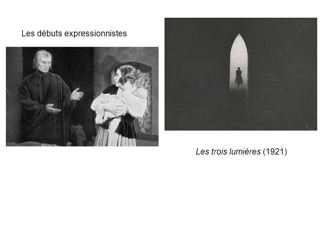 Les débuts expressionnistes