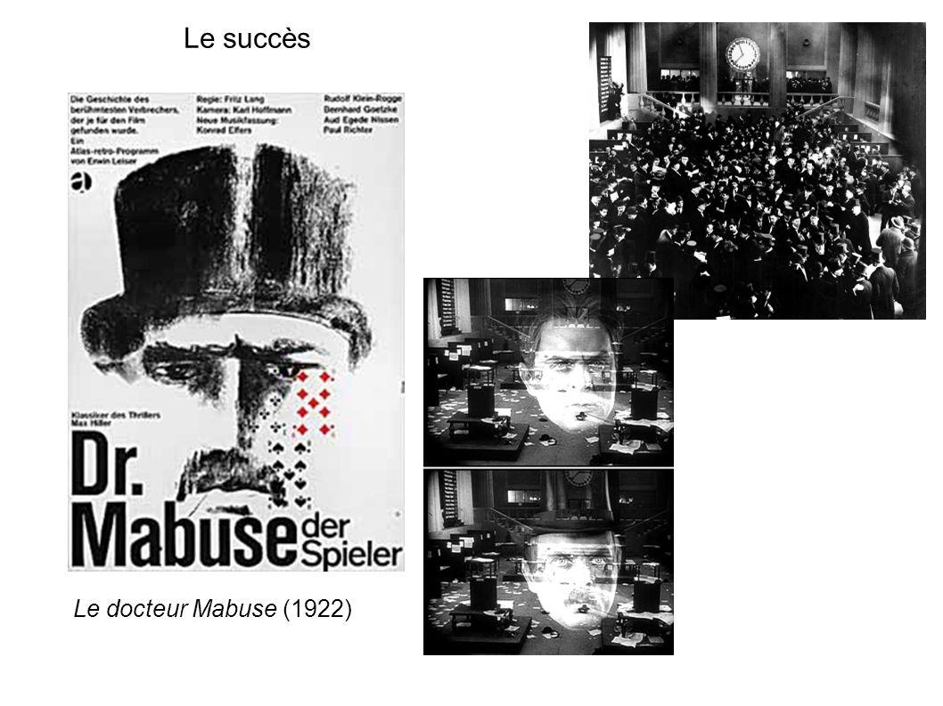 Le succès Le docteur Mabuse (1922)