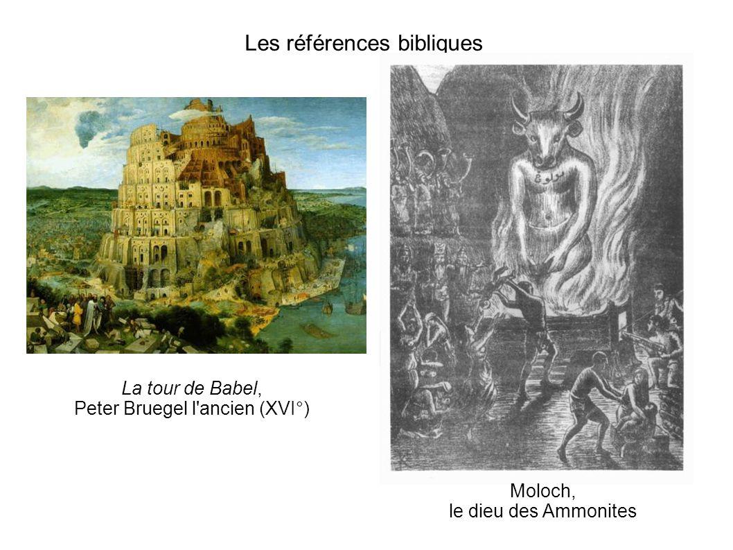 Les références bibliques
