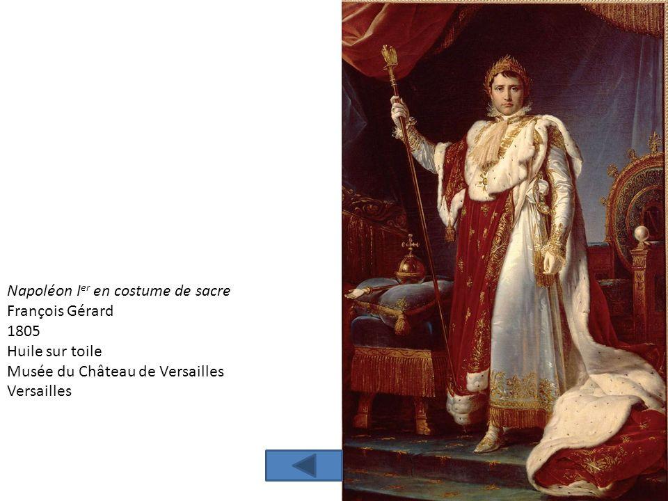 Napoléon Ier en costume de sacre
