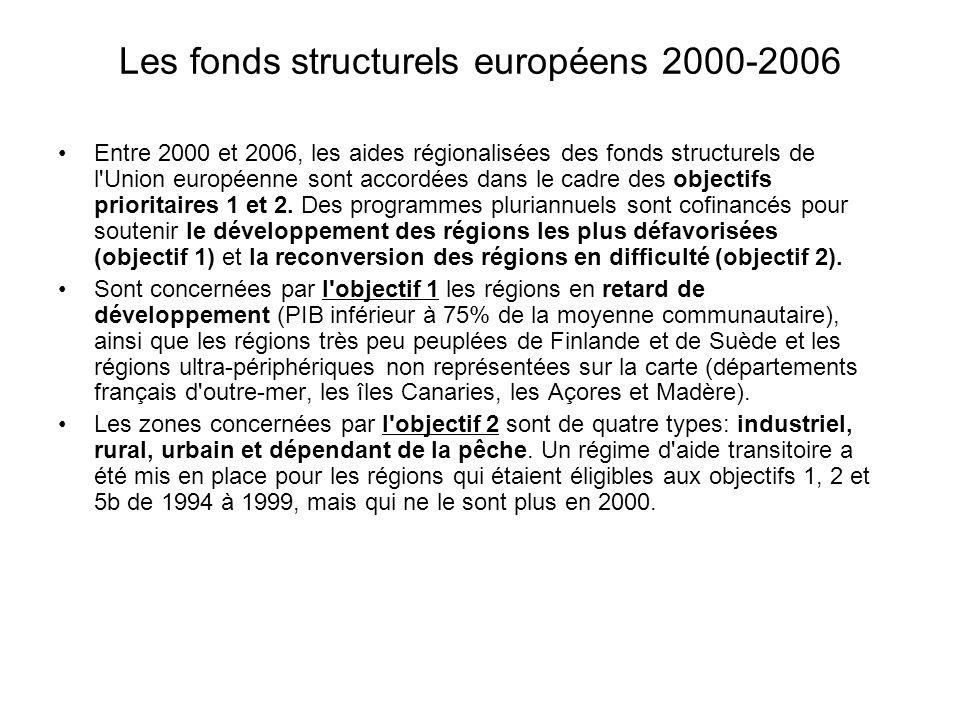 Les fonds structurels européens 2000-2006