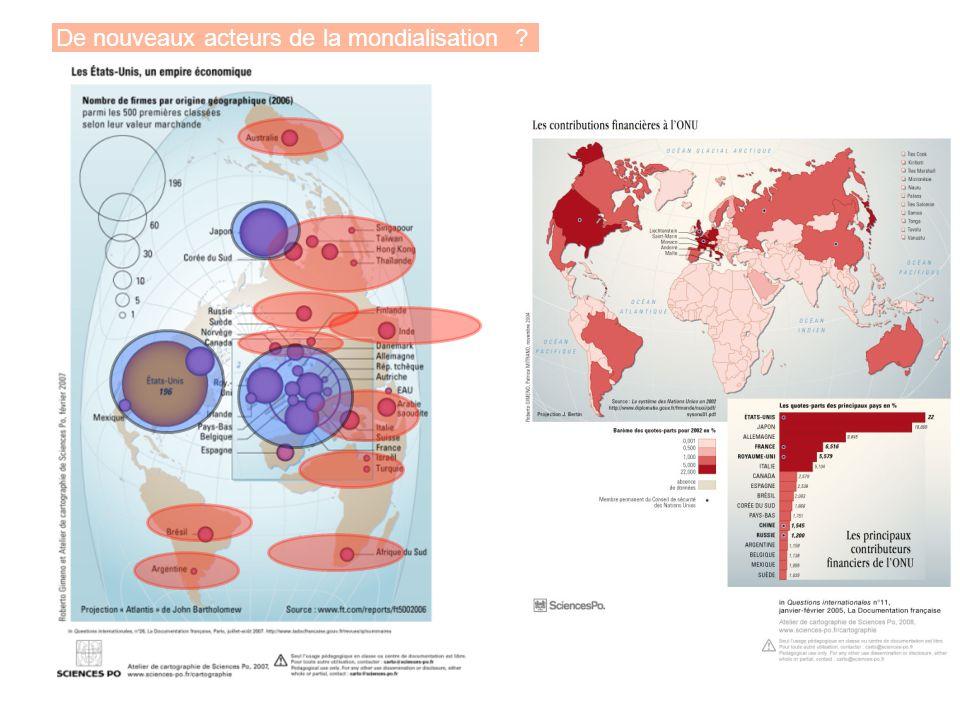 De nouveaux acteurs de la mondialisation