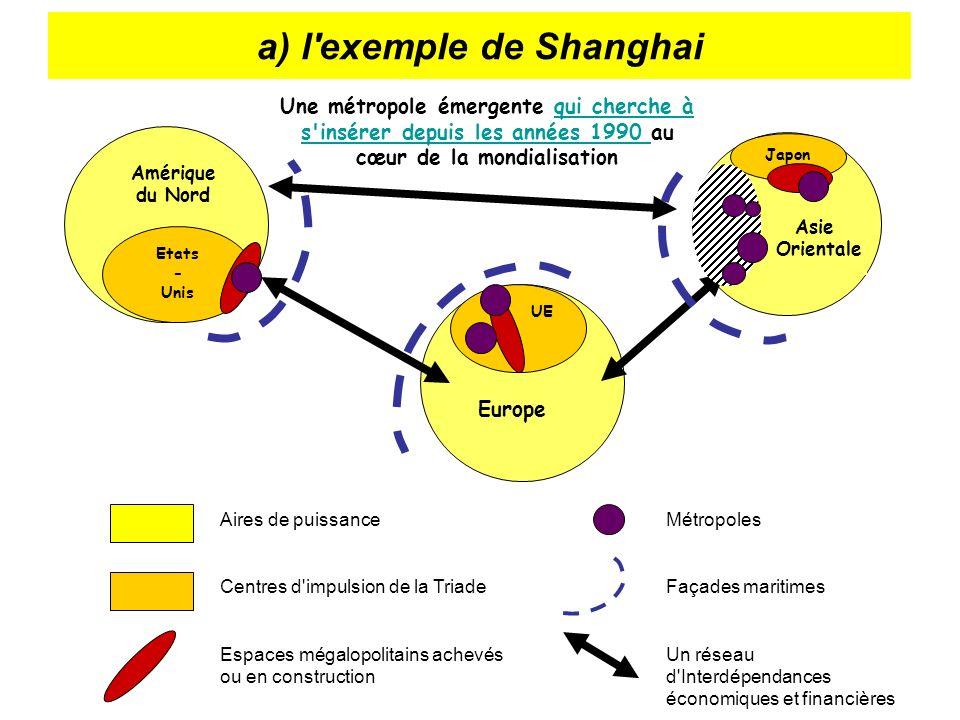 a) l exemple de Shanghai