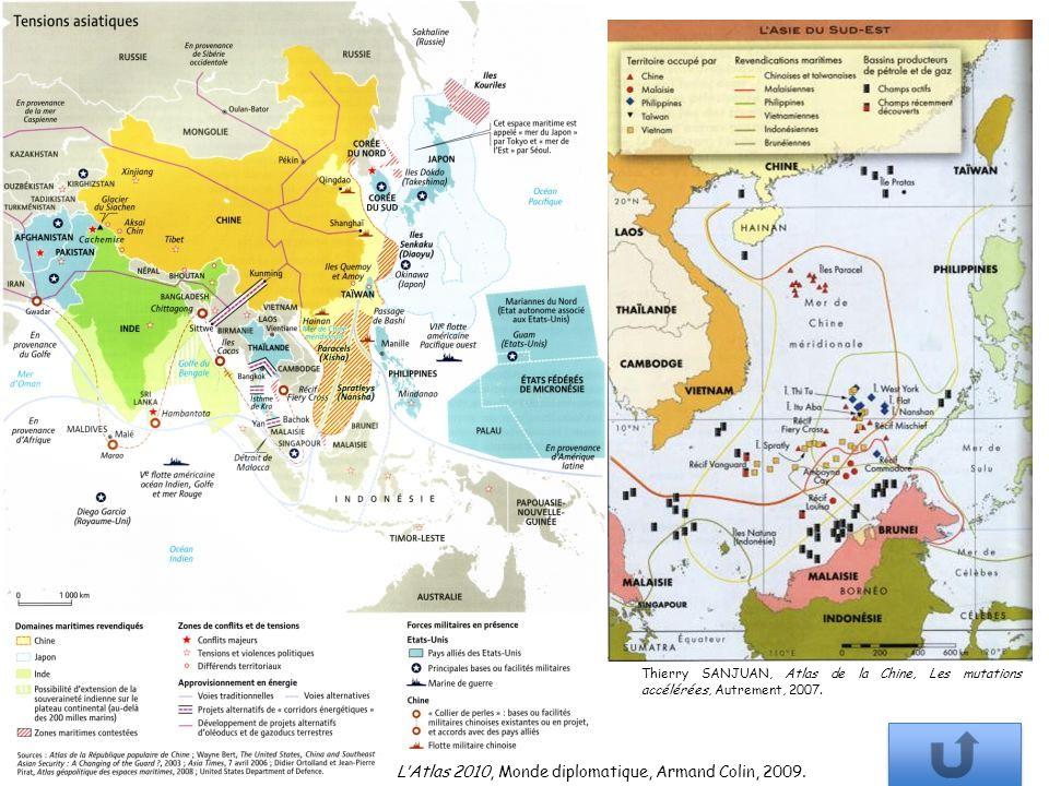 L'Atlas 2010, Monde diplomatique, Armand Colin, 2009.