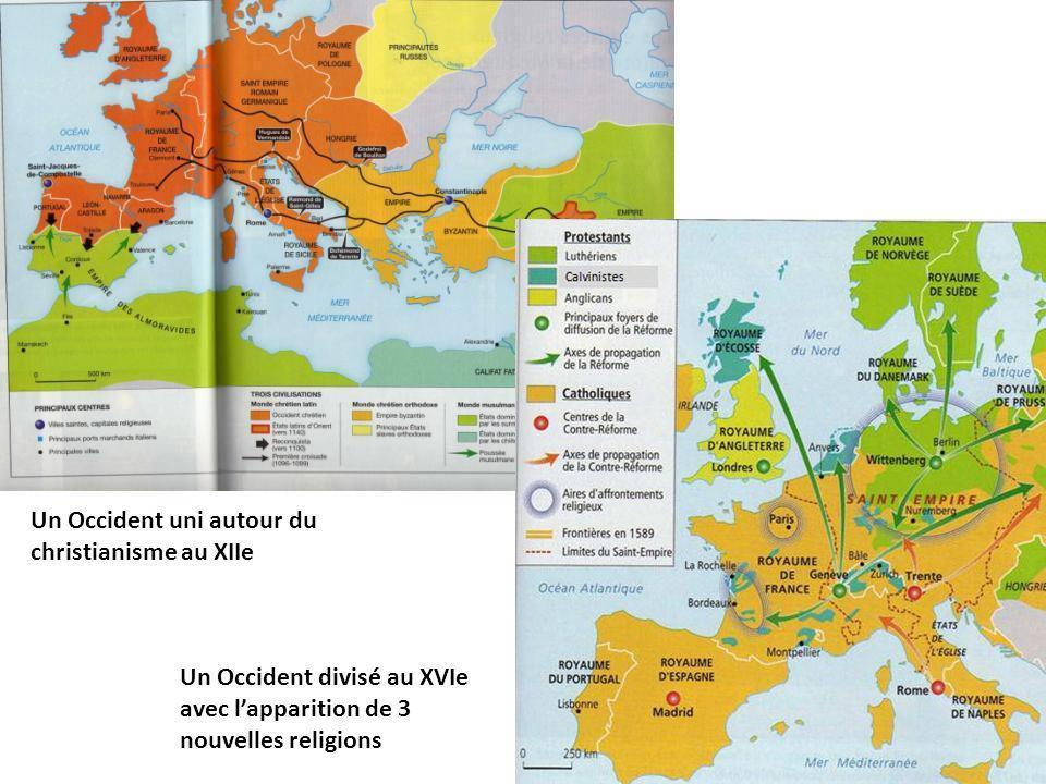 Un Occident uni autour du christianisme au XIIe