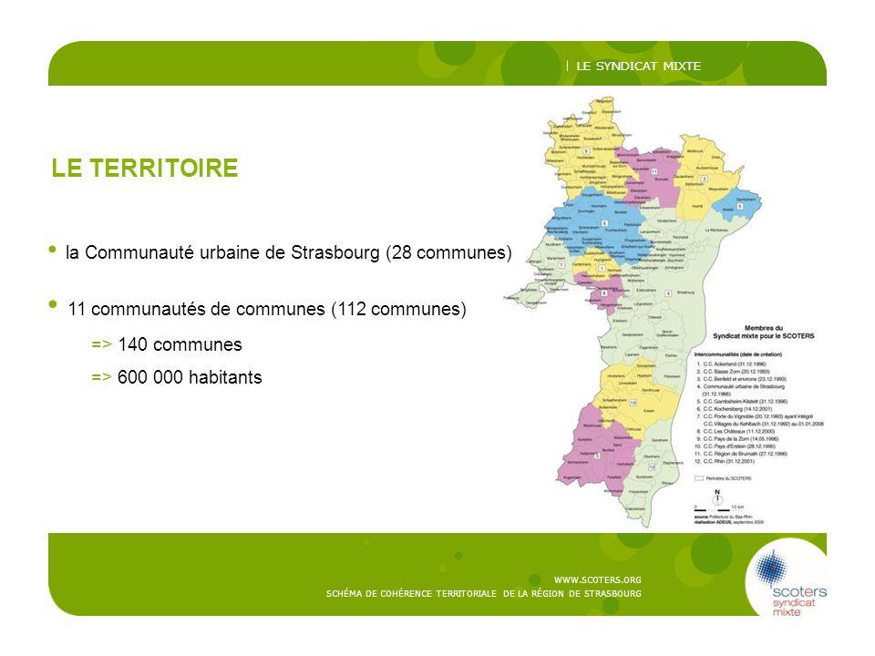 11 communautés de communes (112 communes)
