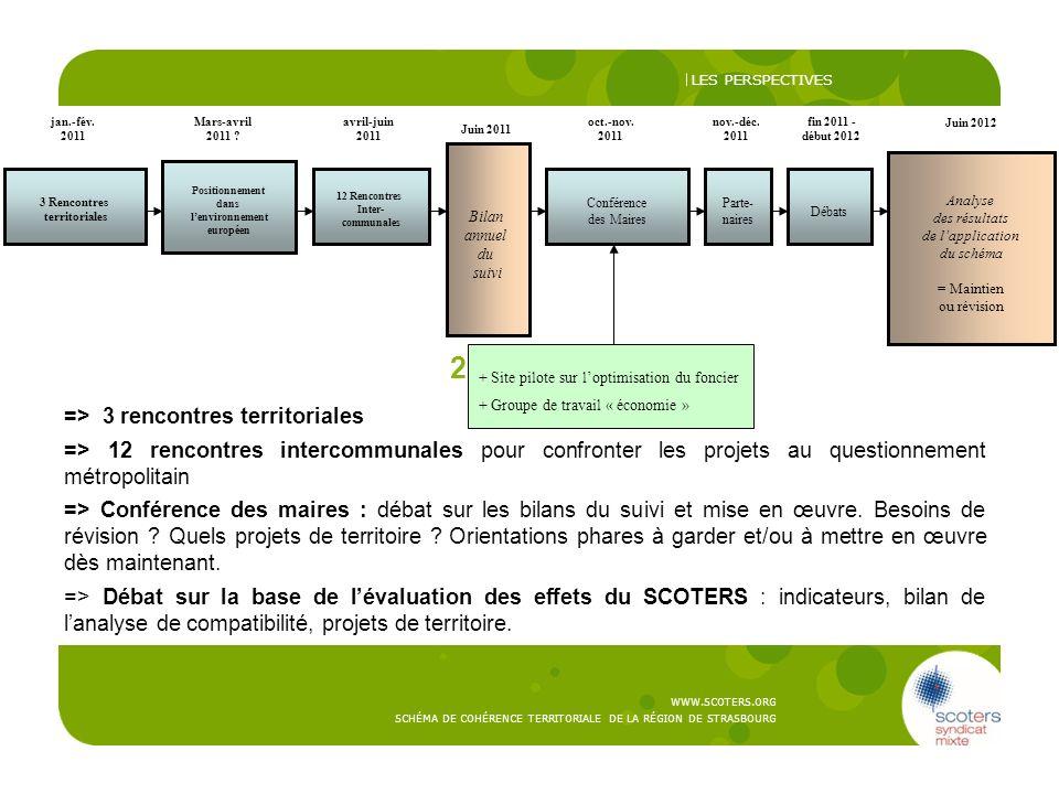2010-2012: => 3 rencontres territoriales