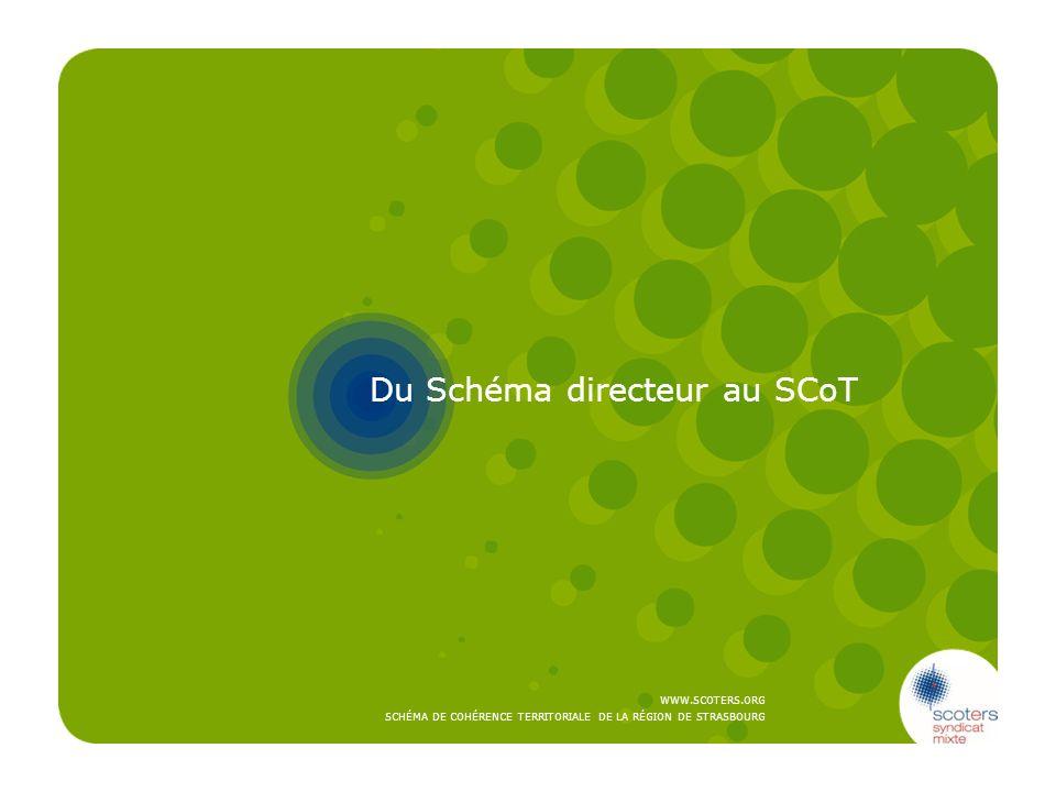Du Schéma directeur au SCoT
