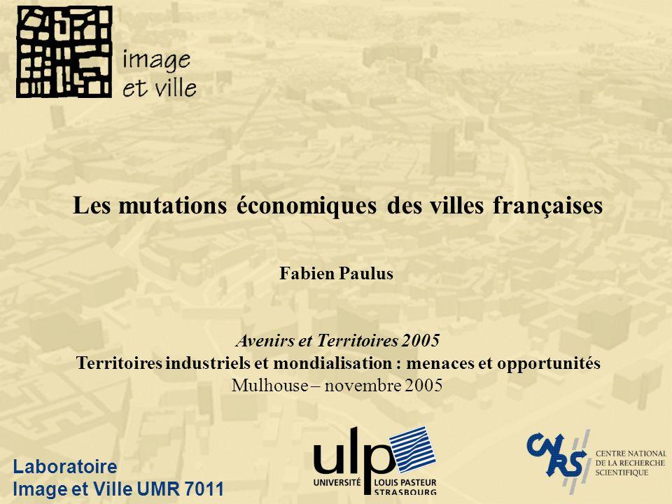 Les mutations économiques des villes françaises