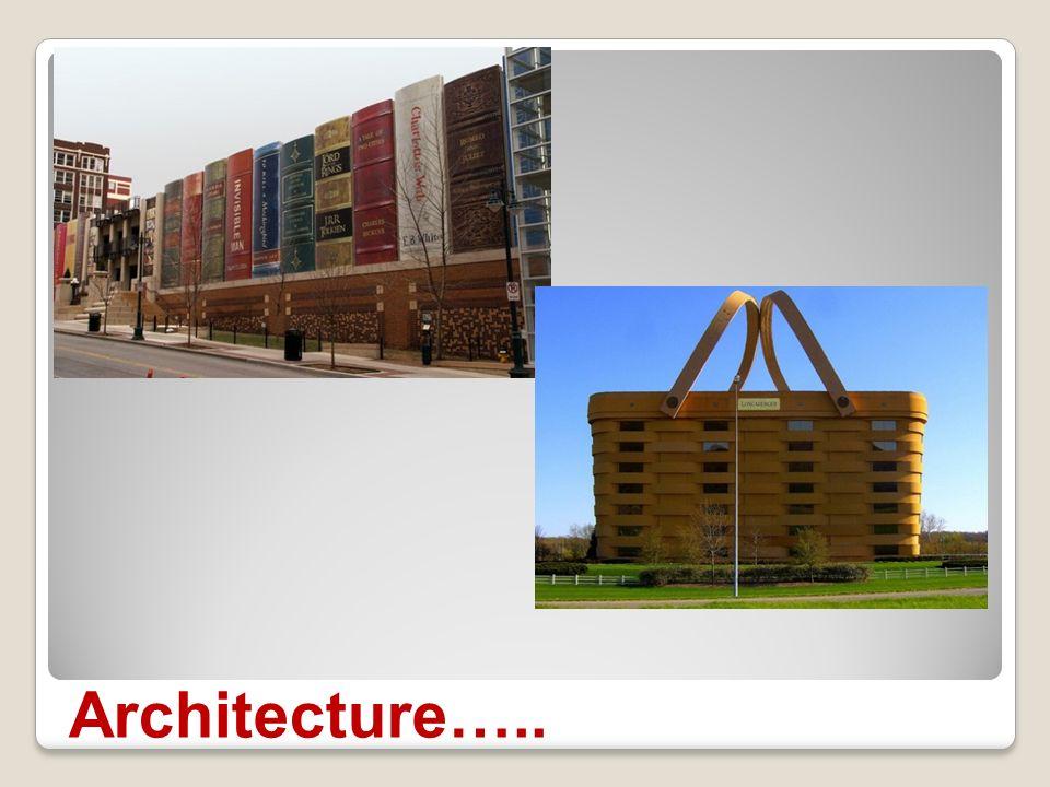 Architecture….. constructions étonnantes