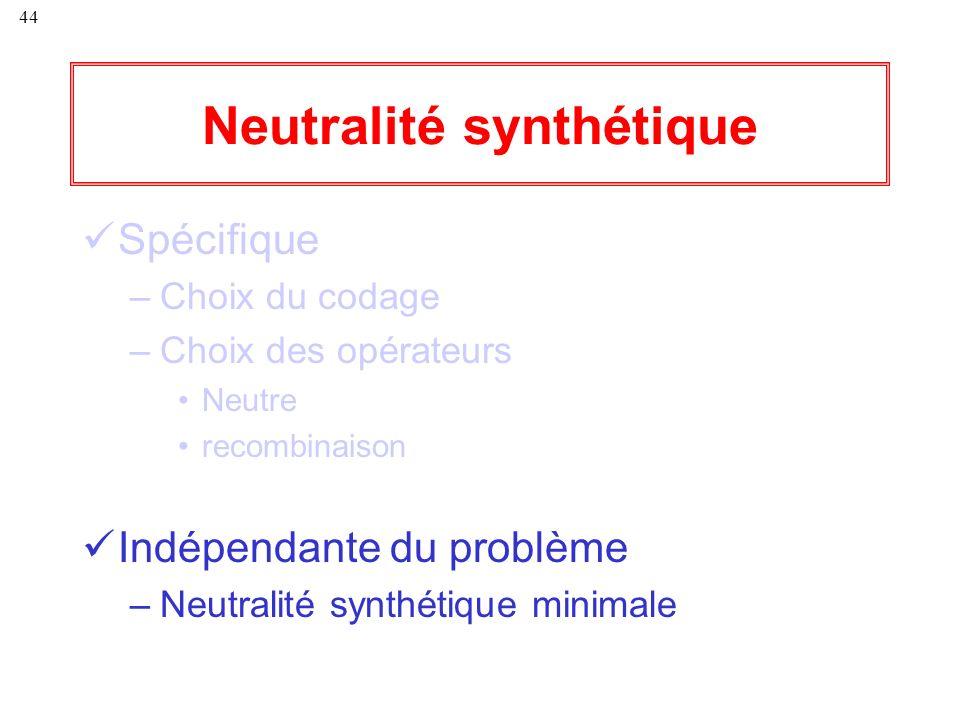 Neutralité synthétique