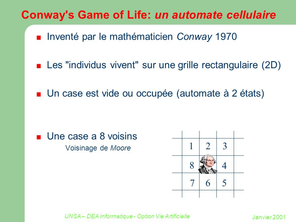 Conway s Game of Life: un automate cellulaire