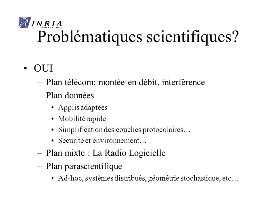 Problématiques scientifiques