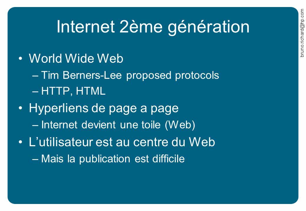 Internet 2ème génération