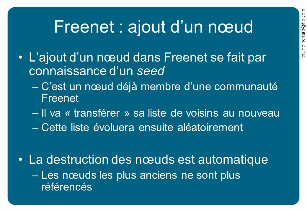 Freenet : ajout d'un nœud