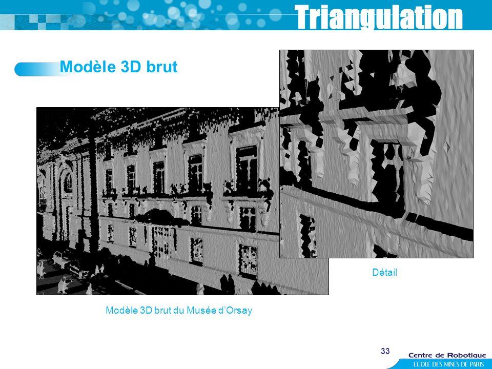Modèle 3D brut du Musée d'Orsay