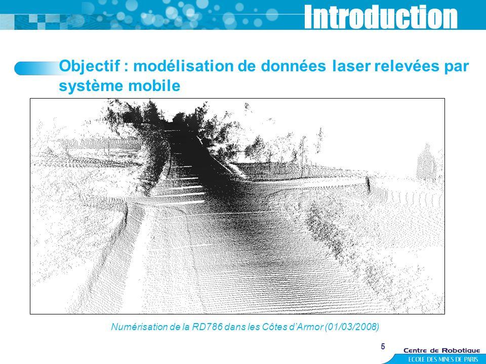 Numérisation de la RD786 dans les Côtes d'Armor (01/03/2008)
