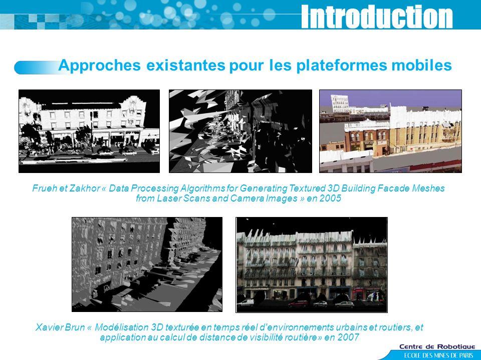 Introduction Approches existantes pour les plateformes mobiles