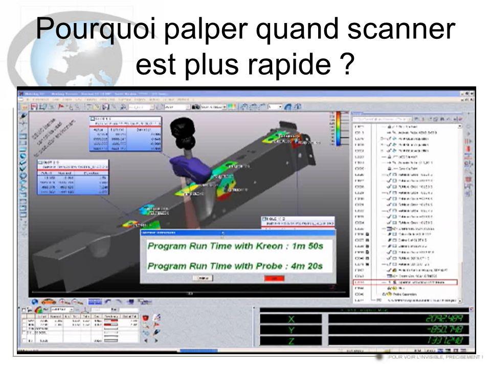 Pourquoi palper quand scanner est plus rapide
