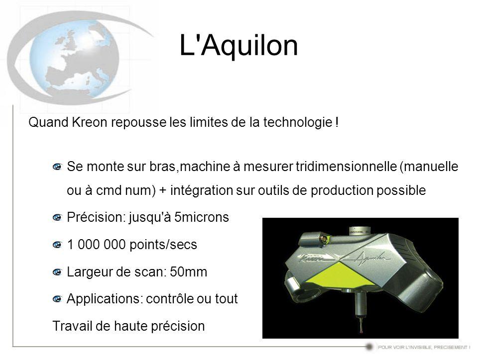 L Aquilon Quand Kreon repousse les limites de la technologie !