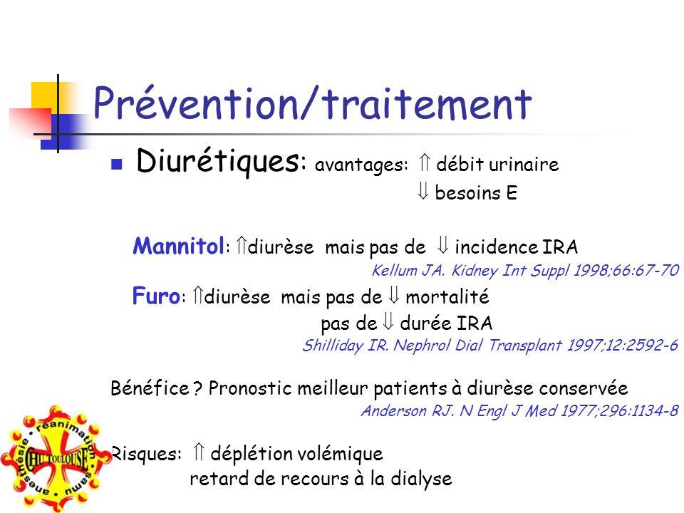 Prévention/traitement