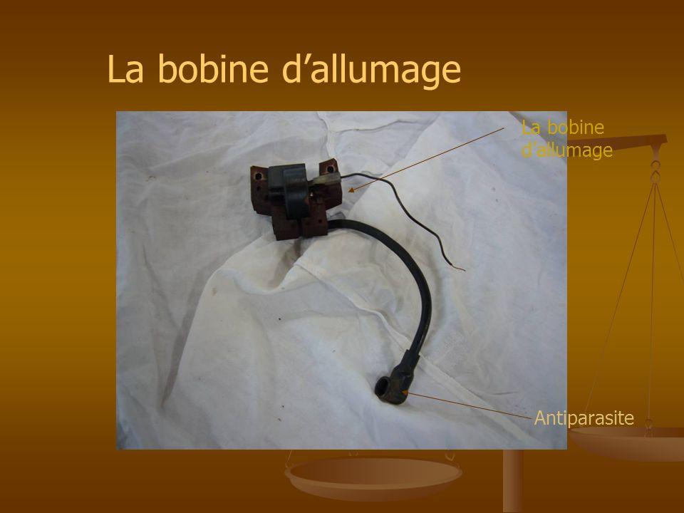 La bobine d'allumage La bobine d'allumage Antiparasite