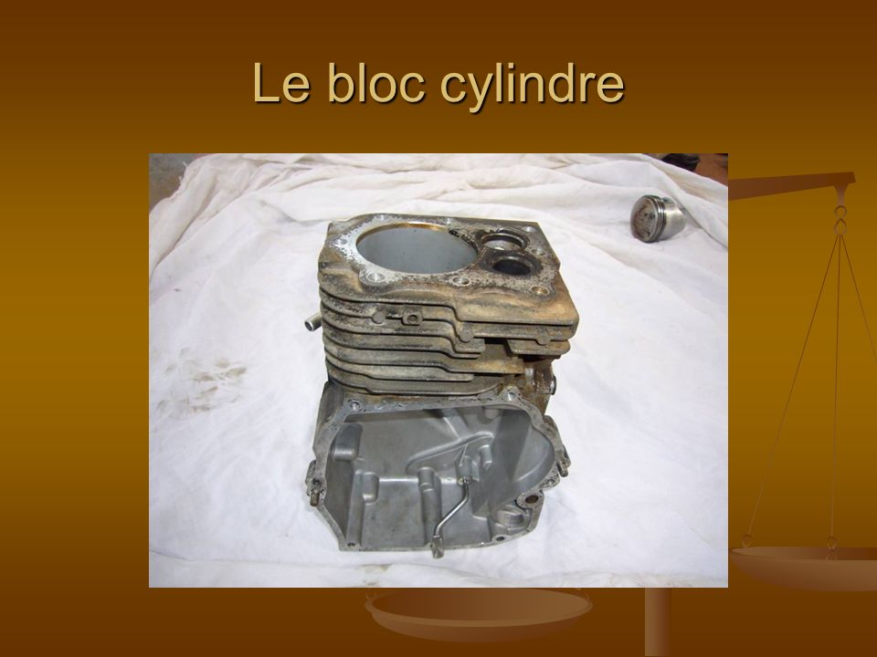 Le bloc cylindre