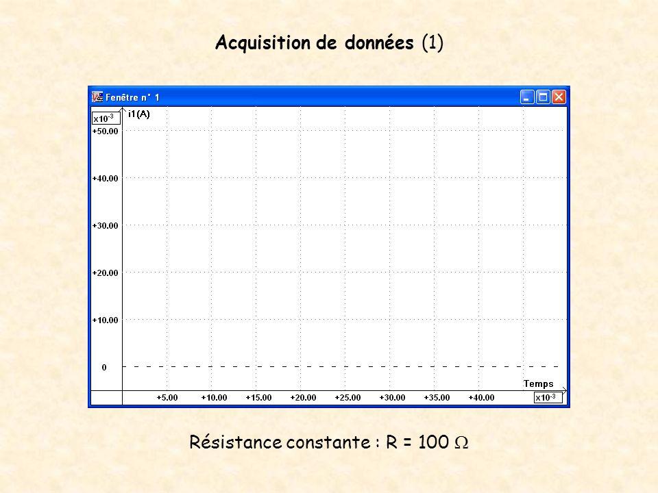 Acquisition de données (1)