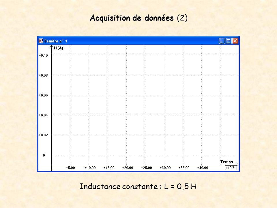 Acquisition de données (2)