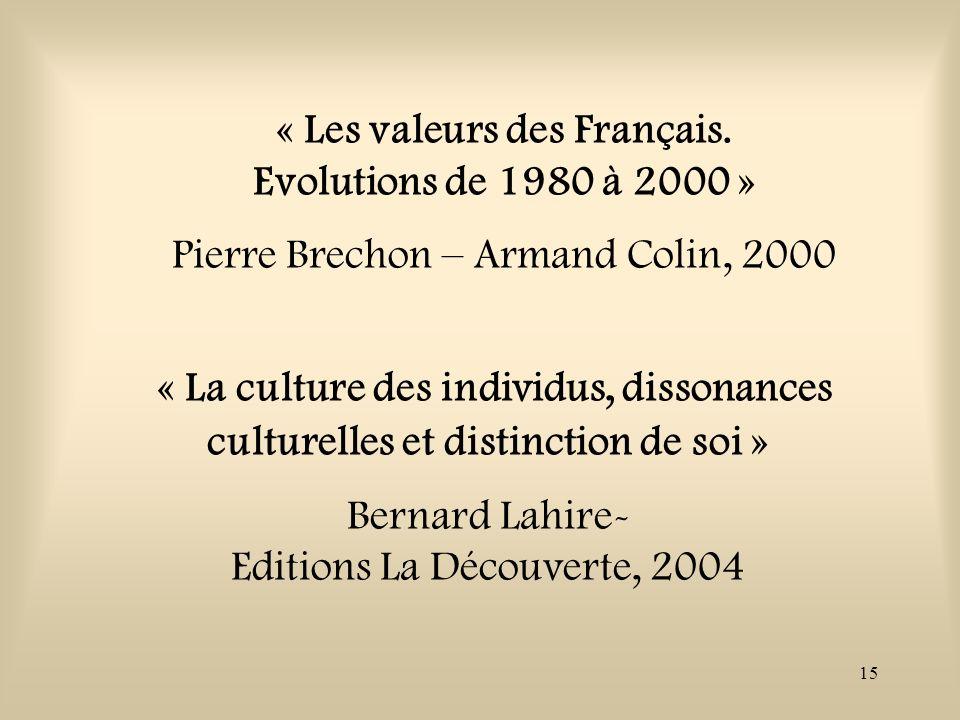 Editions La Découverte, 2004