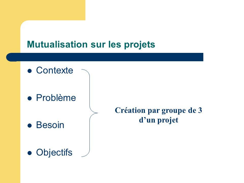 Mutualisation sur les projets