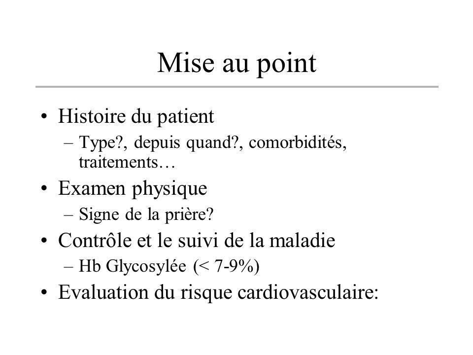 Mise au point Histoire du patient Examen physique