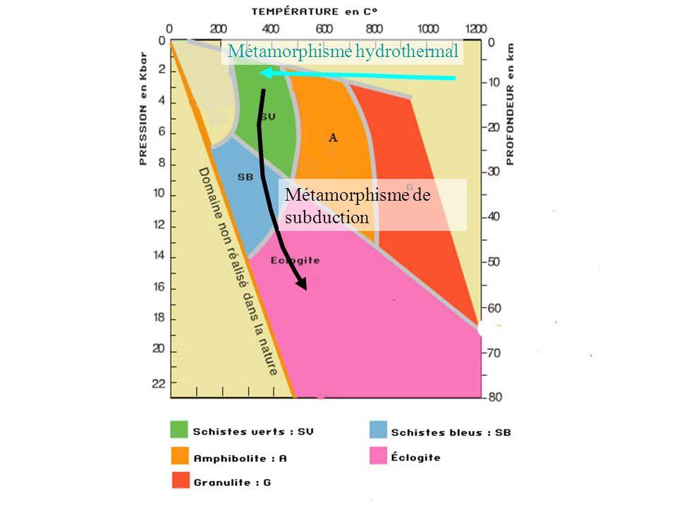 Métamorphisme hydrothermal