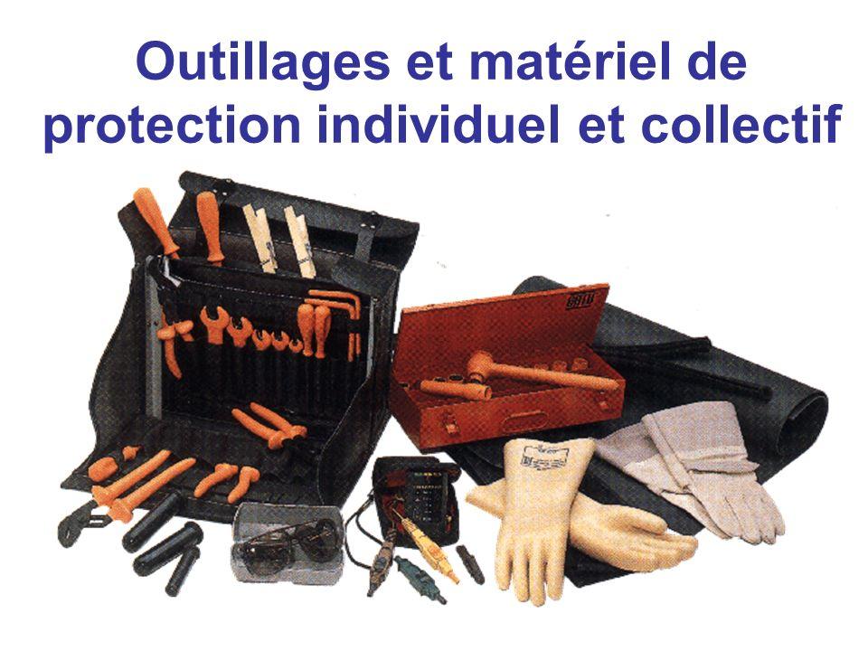Outillages et matériel de protection individuel et collectif