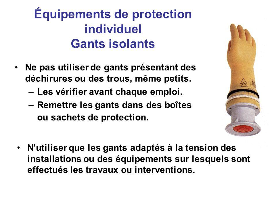 Équipements de protection individuel Gants isolants