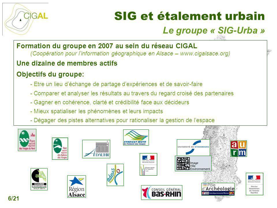 Le groupe « SIG-Urba »