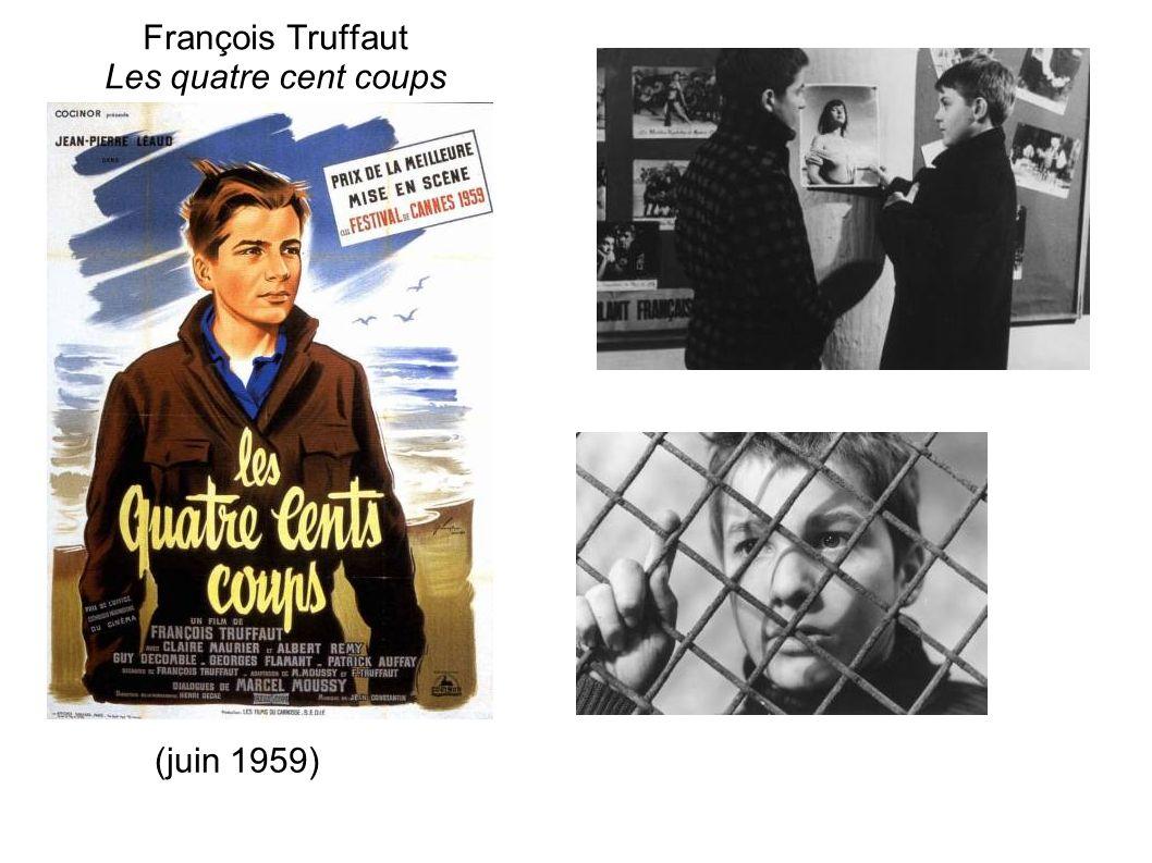 François Truffaut Les quatre cent coups