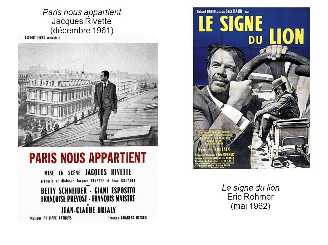 Le signe du lion Eric Rohmer (mai 1962)